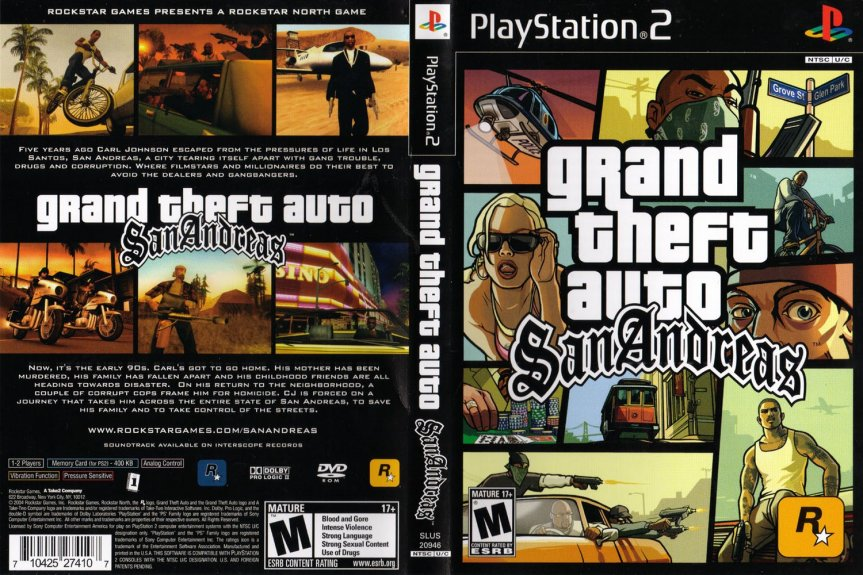 Video Game Industry & Culture: GTA San Andreas